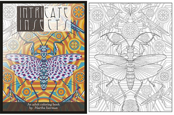 - How To Create A Coloring Book, Like Intricate Insects - Bookmobile