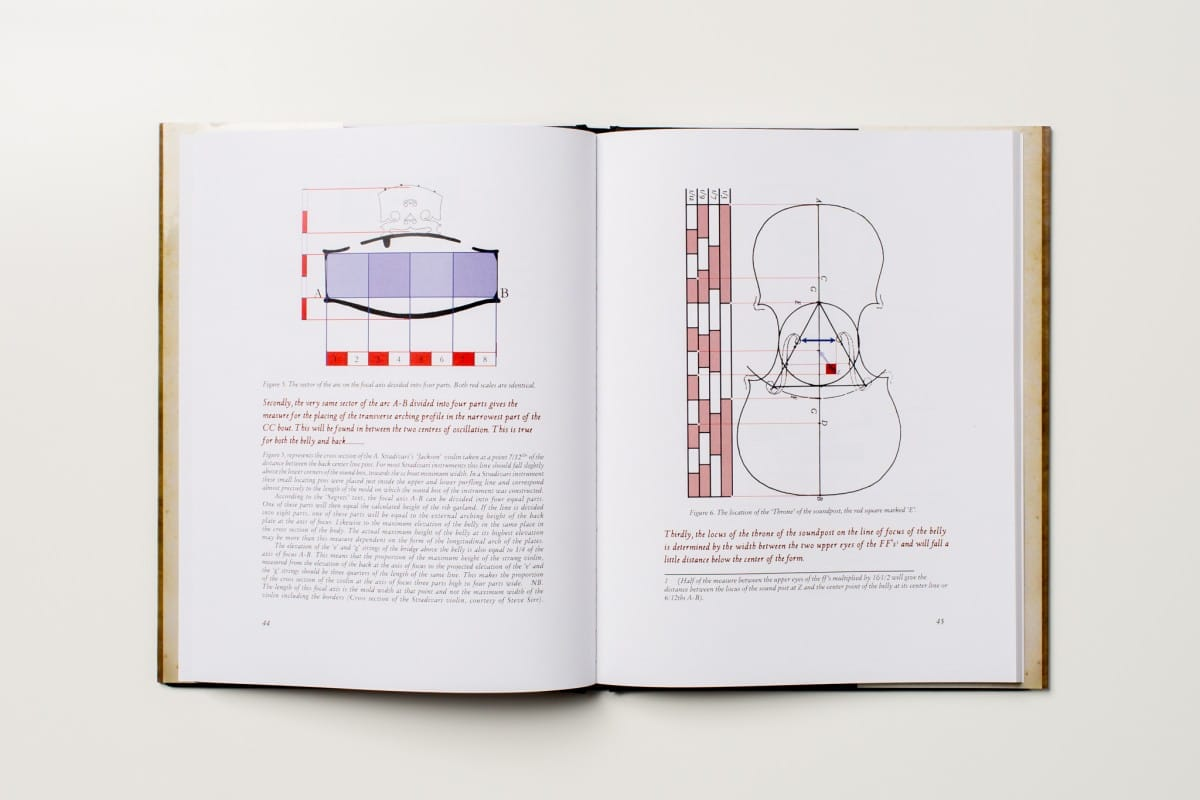 Custom Hardcover Book Printing for a Restorer of Stringed Instruments