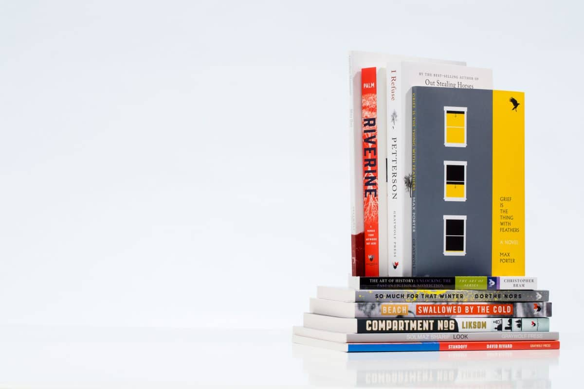 Book Typesetting, Design, and Production Management for Graywolf Press