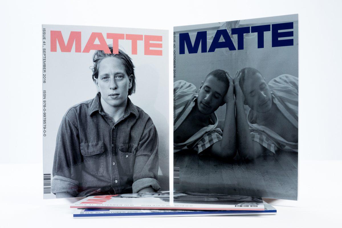 MATTE, Photography Magazine Printing
