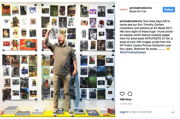 Eric Timothy Carlson, Printing Art Books at Bookmobile