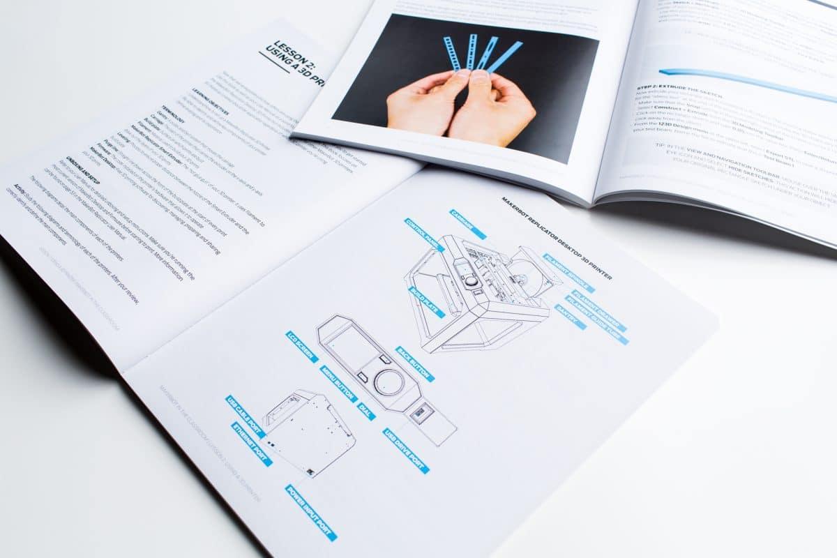 Short Run Book Printing for MakerBot