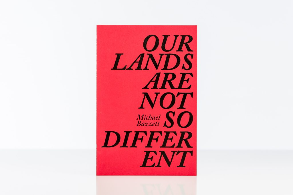 Our Lands Are Not So Different