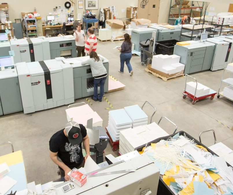 Bookmobile is a Print Provider for the Chicago Distribution Center