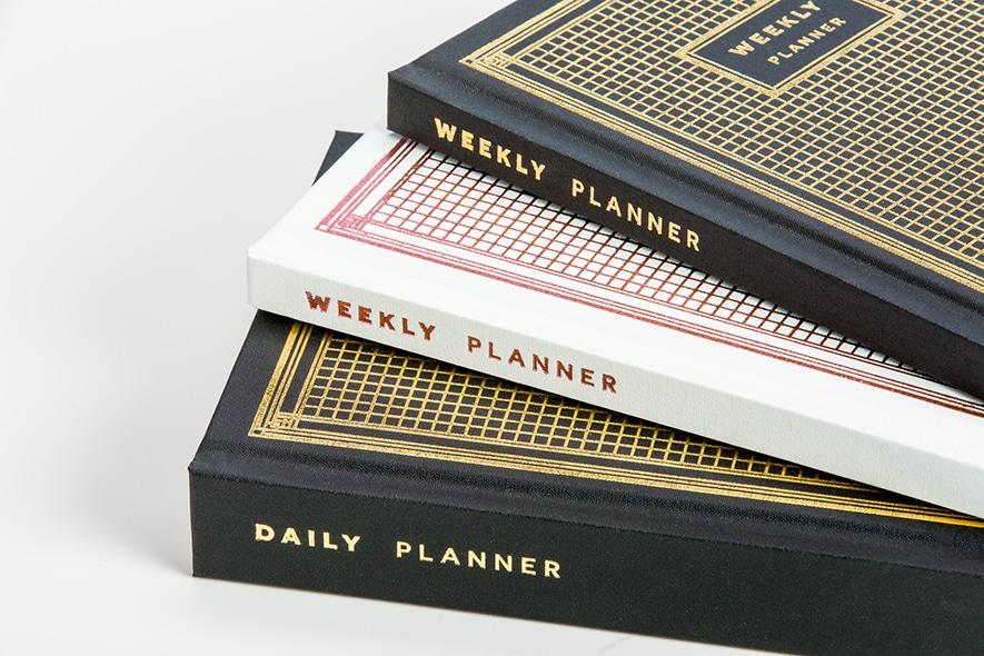 weekly planner planner printing bookmobile