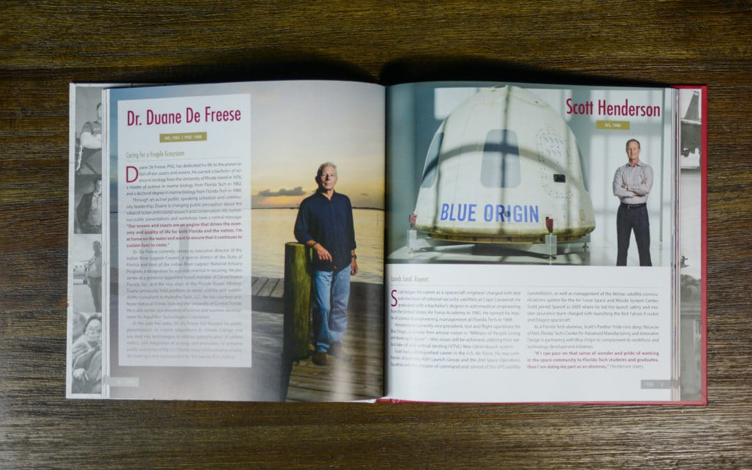 Offset Printing Services for a High-End Coffee Table Book Celebrating a University's Anniversary